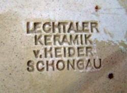 Lechtaler Keramik von Heider