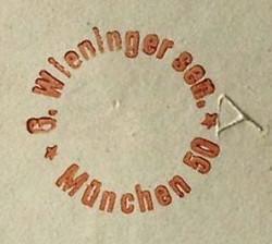 G.(Gustav) Wieninger Snr. 1