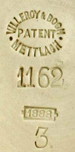 Villeroy & Boch - Mettlach 18