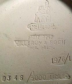 Villeroy & Boch - Mettlach 0036