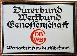 Dürerbund Werkbund Genossenschaft 2