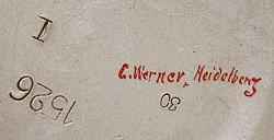 Johann Werner / Karl or Carl Werner / Carl Werner Inhaber Hans Werner 7