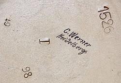Johann Werner / Karl or Carl Werner / Carl Werner Inhaber Hans Werner 8