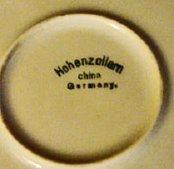 Hohenzollern China 1