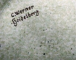 Johann Werner / Karl or Carl Werner / Carl Werner Inhaber Hans Werner a123