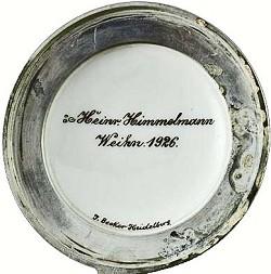 Jakob Becker / Adam Jakob Becker, Firma: J. Becker 11-1