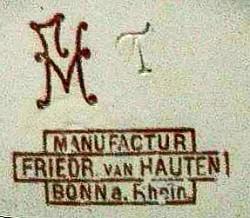 Friedrich van Hauten (& Albert Springmann) / Friedrich van Hauten Sohn, (Inhaber Fritz van Hauten) 11-4-3-1