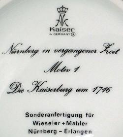 Porzellanfabrik AL-KA Kunst Alboth & Kaiser (K.G.) 11-4-7-1