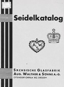 Sächsische Glasfabrik August Walther & Söhne A. G. / (V.E.B.) Sachsenglas (A.G.)(G.m.b.H) 11-4-30-2