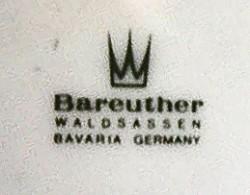 Porzellanfabrik Bareuther & Co. / Porzellanfabrik Waldsassen Bareuther & Co. A.G. 2