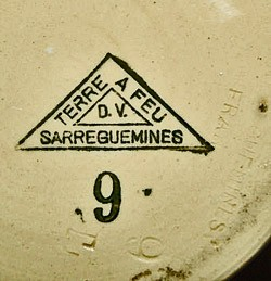 Porzellanfabrik Utzschneider & Cie - Sarreguemines 11-7-4-1