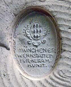 Münchener Werkstätten für keramische Kunst 11-9-8-3