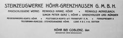 Steinzeugwerke Höhr-Grenzhausen GmbH 4