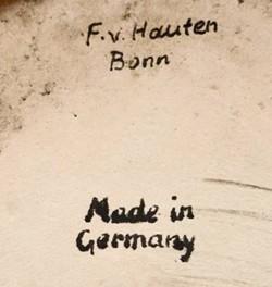 Friedrich van Hauten (und Albert Springmann) / Friedrich van Hauten Sohn, (Inhaber Fritz van Hauten) 11-9-26-2