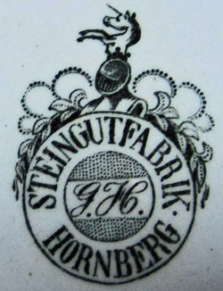 Steingutfabrik Hornberg, A.G, vormals Gebrüder Horn 11-11-12-1