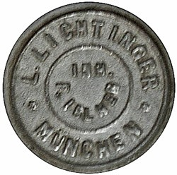 Ludwig Lichtinger Werkstätte (Inhaber I. Iblher?) 12-4-19-9