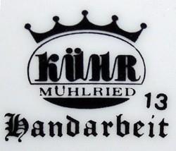 Porzellanmanufaktur un Zinndeckelfabrikation G. & M. Kühr G.m.b.H. 12-4-21-2