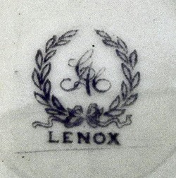 Ceramic Art Company / Lenox Incorporated 12-6-7-2