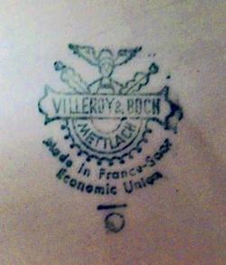 Villeroy & Boch - Mettlach 12-7-18-1