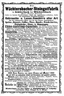 Wächtersbach Keramik. 12-11-23-1
