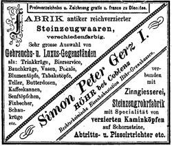 Simon Peter Gerz I (G.m.b.H.) 12-11-29-1