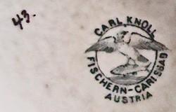 Karlsbader Porzellanfabrik Carl Knoll 12-12-10-1