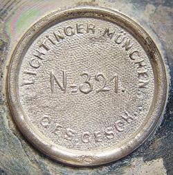 Ludwig Lichtinger Werkstätte (Inhaber (P? and) Franz Iblher)13-2-27-1