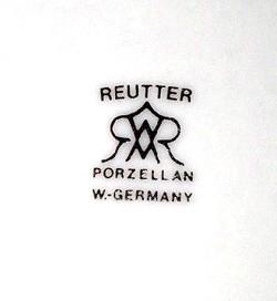 M. W. Reutter Porzellanfabrik G.m.b.h.13-6-5-1