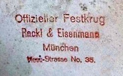 Rackl & Eisenmann / Max Rackl Zinngießerei 13-6-24-1