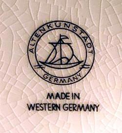 Porzellanfabrik Altenkunstadt Karl Nehmzow 13-9-17-1