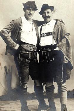 Brüder (Josef & Albert) Thannhauser. München. 14-9-21-1