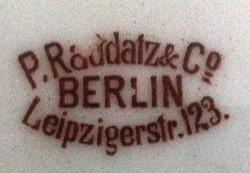 P. Raddatz (& Co. / & Co. GmbH) 14-12-19-1