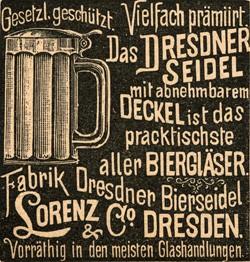 Fabrik Dresdner Bierseidel Lorenz & Co. 15-3-22-1