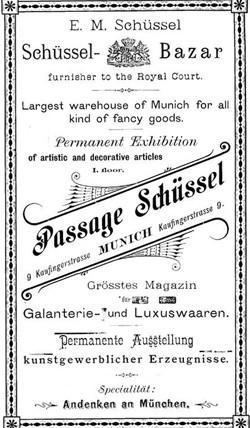Karl Schüssel's Porzellan-Magazin 15-5-12-1