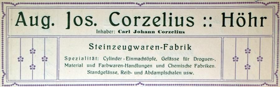 Werner Corzelius 18-2-10-1