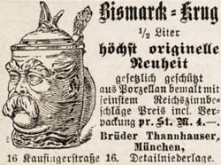 Brüder / Gebrüder (Josef & Albert) Thannhauser. München. 18-8-11-1