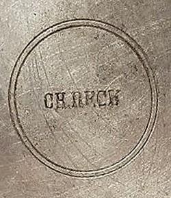 Christian Reck (Reinhold Reck) 19-1-8-1