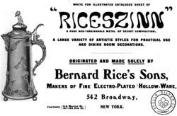 Bernard Rice's Sons 19-1-21-4