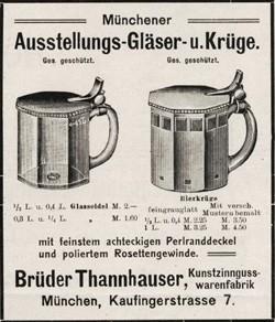 Brüder / Gebrüder (Josef & Albert) Thannhauser. 19-11-7-1