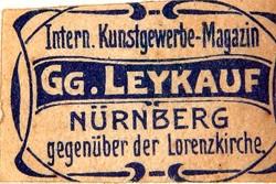Kunstgewerbe-Magazin Georg Leykauf 20-2-15-1